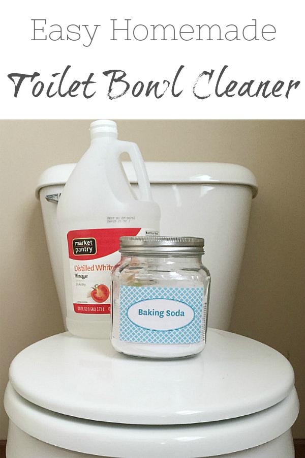 Easy Homemade Toilet Bowl Cleaner