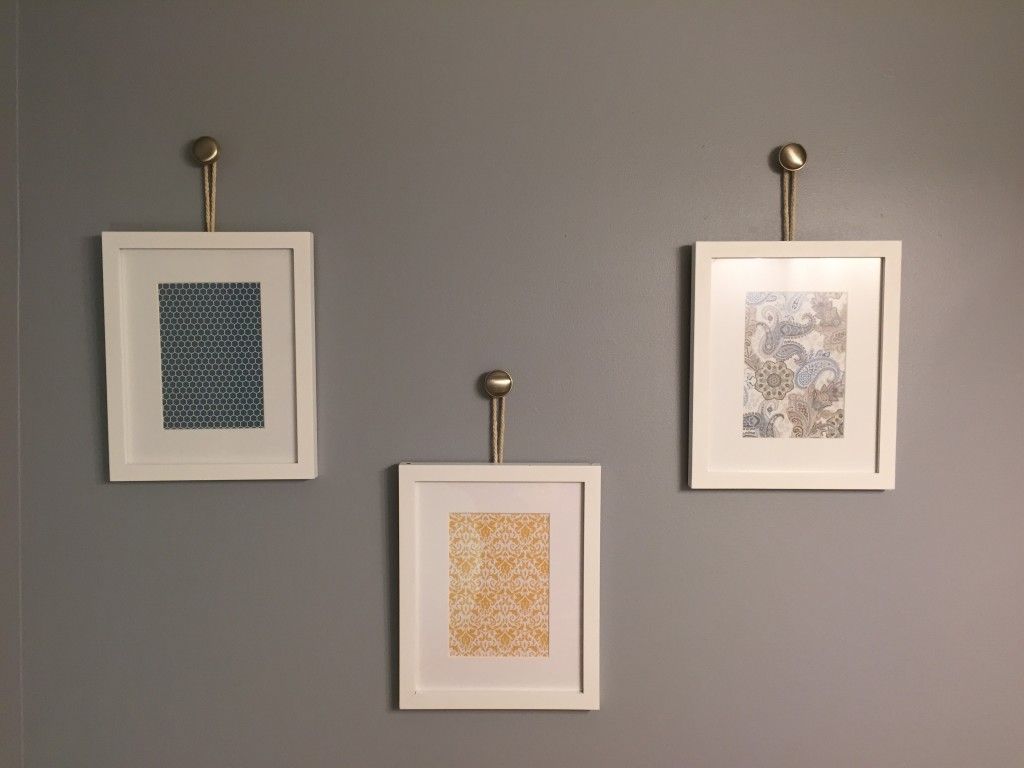 Hanging Frames From Knobs