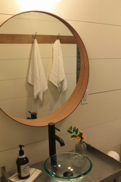 Bathroom Makeover Via Make Them Wonder