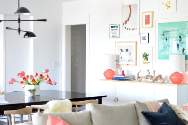 Dining Room Makeover via House Updated