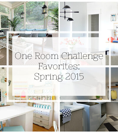 These gorgeous room makeovers will make your jaw drop. My favorite room reveals from the One Room Challenge