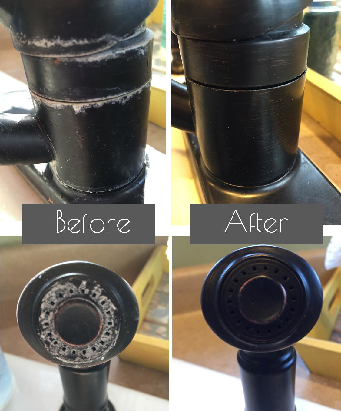 Removing Hard Water Stains