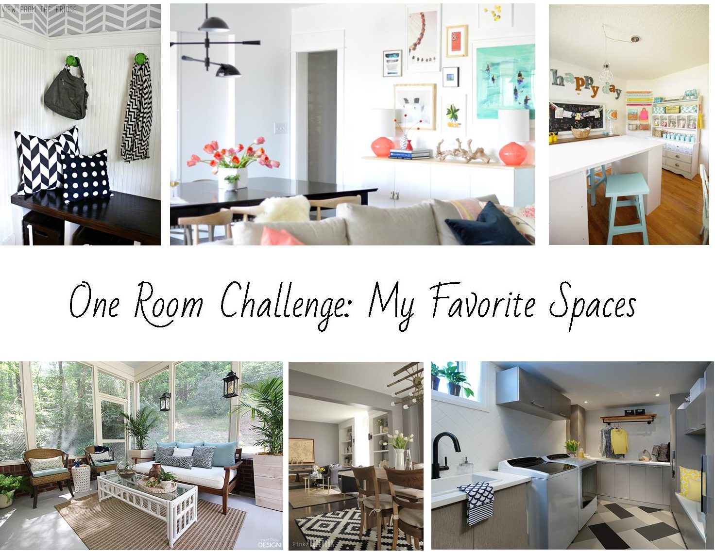 One Room Challenge: My Favorite Spaces