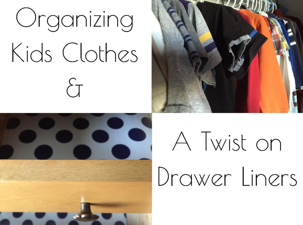 Organizing Kids Clothes