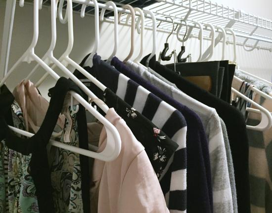 Organizing Clothes: The KonMari Method