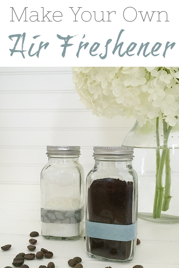 This DIY Air Freshener could not be easier to make. Depending on the version you use, it's either one or two ingredients. Fresh bathrooms in as little as 60 seconds!