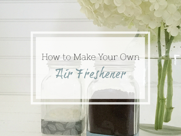 Easy DIY Air Freshener... Two Ways