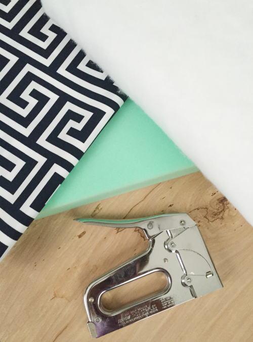 Easy, No-Sew DIY Bench Cushion Tutorial