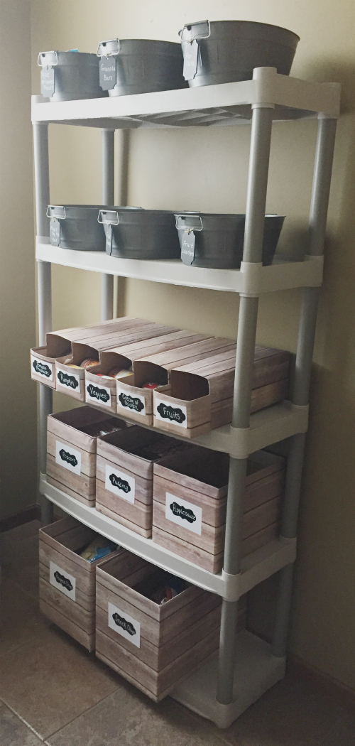$100 Mudroom/Pantry Reveal