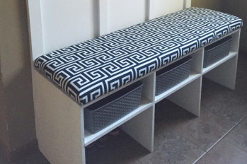 DIY Bench Cushion: A Tutorial