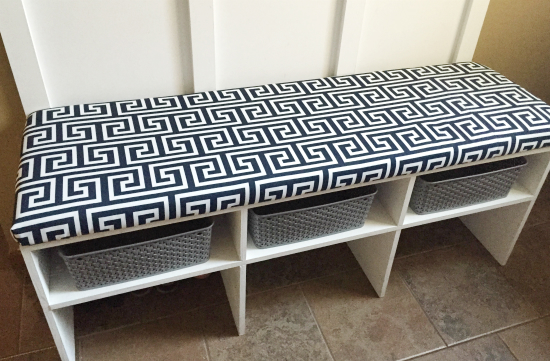 diy bench cushion a tutorial lemons lavender laundry. Black Bedroom Furniture Sets. Home Design Ideas