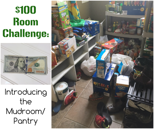 $100 Room Challenge: Introducing the Mudroom/Pantry