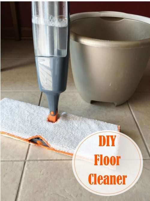 Love this homemade floor cleaner recipe!
