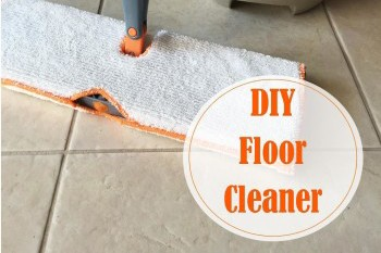 DIY Floor Cleaner for Linoleum and Tile
