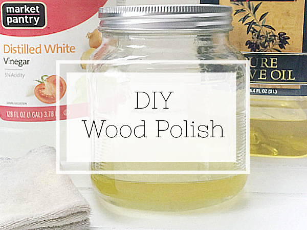 Make your own wood polish using two simple ingredients from your kitchen