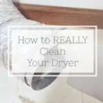Cleaning Tip Tuesday: Cleaning The Dryer