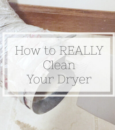 Full tutorial on how to clean a dryer.