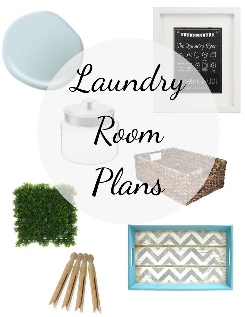 One Room Challenge Laundry Room Plans