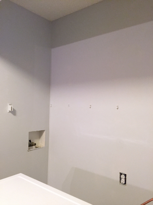 One Room Challenge: Laundry Room Week 4