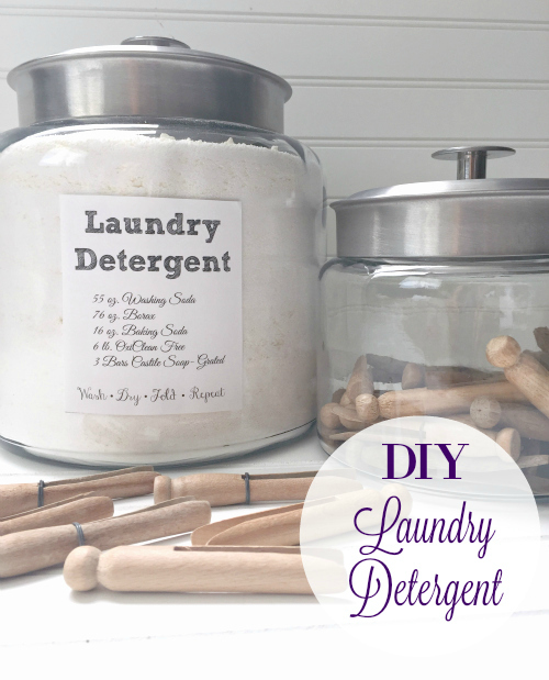 Great recipe for DIY Laundry Detergent! Looks like it makes a ton!