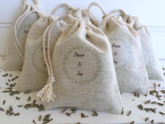 DIY Lavender Sachets