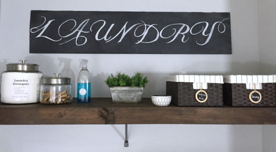 DIY Wood Overlay for Wire Shelving