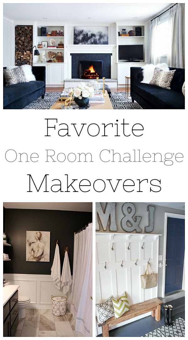 Favorite Room Makeovers from the One Room Challenge