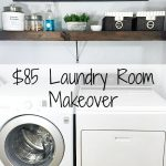$85 Laundry Room Makeover