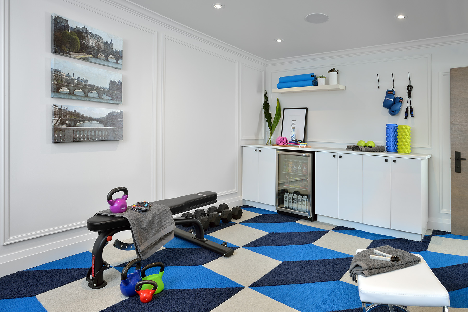 Home Gym Makeover by Lisa Canning