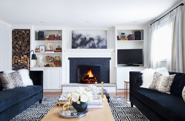 Favorite ORC Reveals: The Curated House Living Room Makeover