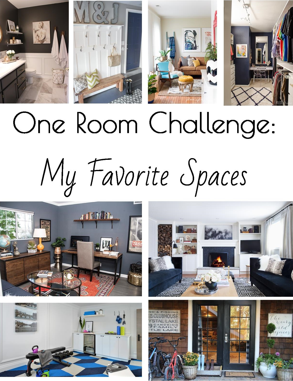 Favorite Room Reveals from the One Room Challenge Fall 2015
