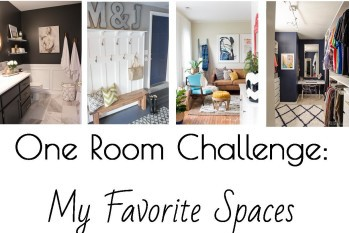 One Room Challenge (Fall 2015): My Favorite Spaces