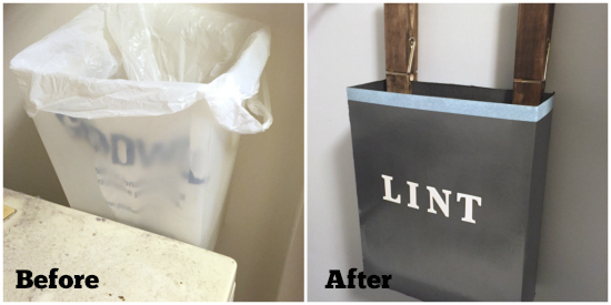 Before and After Lint Storage