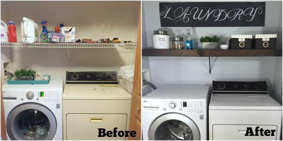 One Room Challenge Laundry Room Reveal