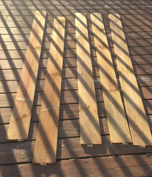 Wood Planks for Shelving