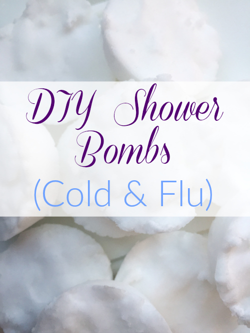 Great idea to make these shower bombs when your need a soothing aroma!