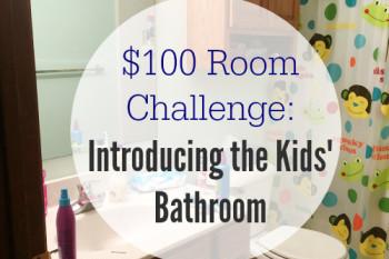 $100 Room Challenge: Goals for the Kids' Bathroom