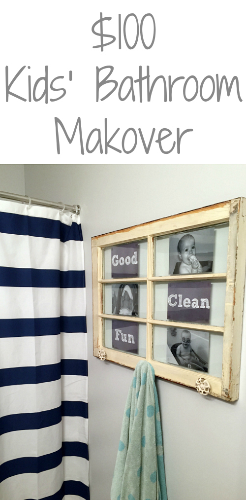 This makeover is incredible! I cannot believe it was done for only $100!