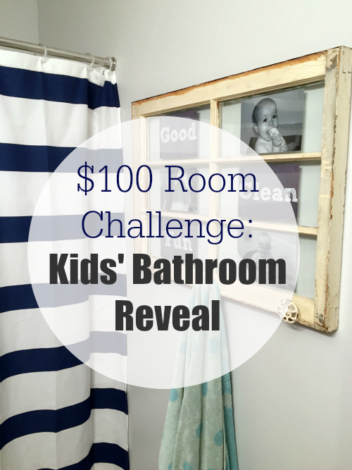 Kids Bathroom Reveal