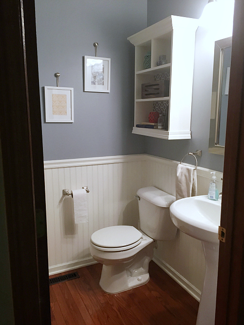Real Life Home Tour: Powder Room