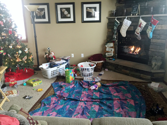 Real Life Home Tour: Living Room