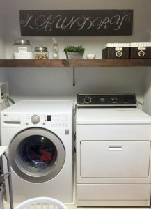 Real Life Home Tour: Laundry Room