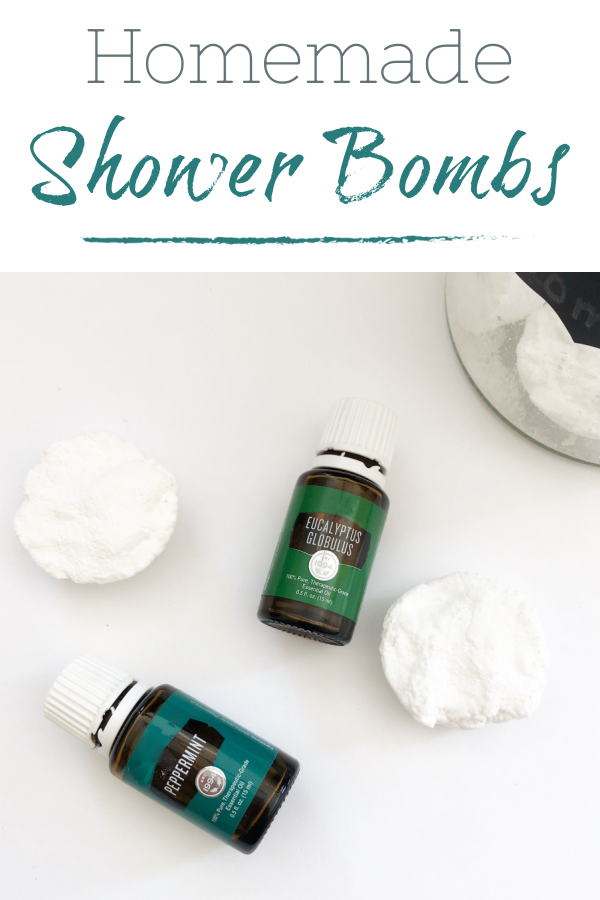 Easy DIY Shower Bomb recipe.