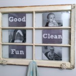 $100 Room Challenge: Old Window to Towel Rack