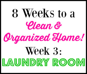 8 Week Cleaning Challenge: Laundry Room