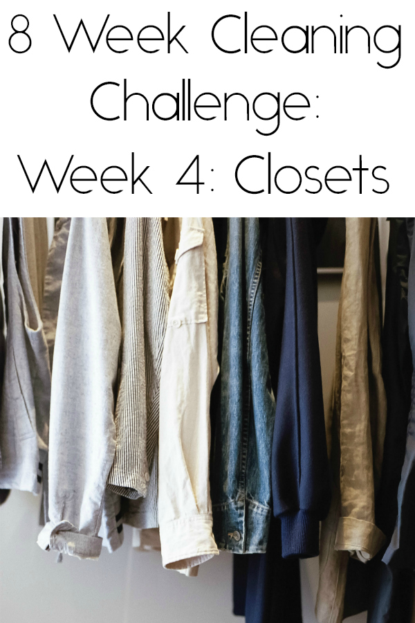 Cleaning Closets Pinterest Image