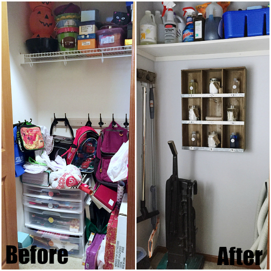 Cleaning Closet Reveal
