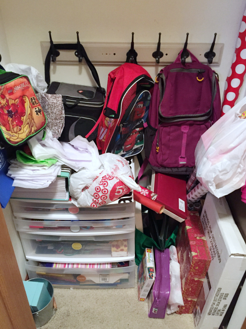 Creating a Cleaning Closet