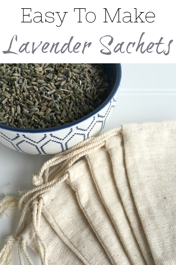 These lavender sachets smell amazing and are so easy to make! Perfect for gift giving or keeping for yourself.