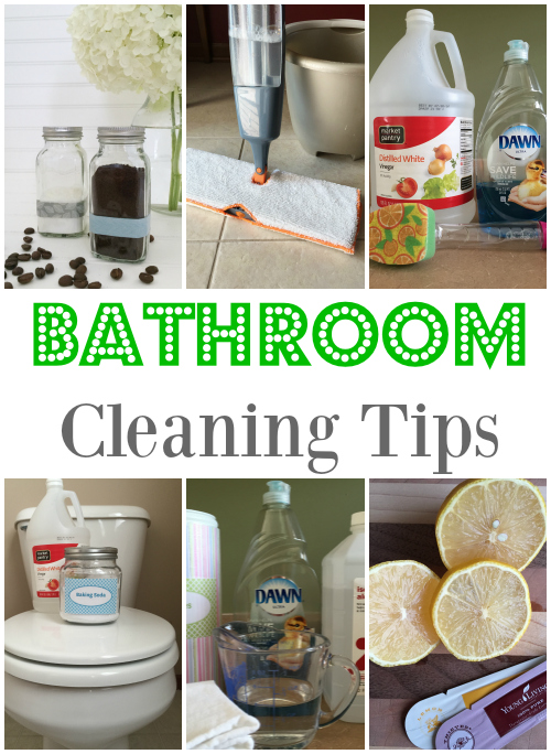Cleaning tip tuesday bathroom cleaning tips lemons for Cleaning bathroom tips